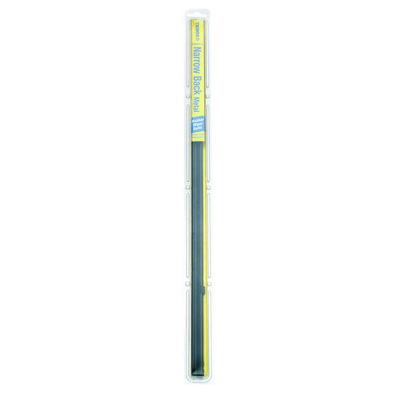 Tridon Wiper Refills - Metal Rail Narrow Back, Suits 6.5mm, 2 Pack, , scaau_hi-res
