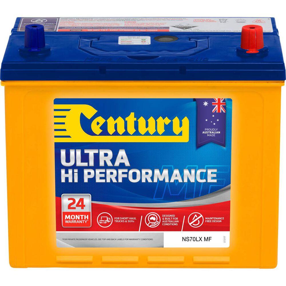 Century 4WD Battery - NS70LX MF, 720CCA