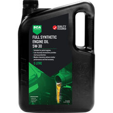SCA Full Synthetic Engine Oil 5W-30 5 Litre, , scaau_hi-res