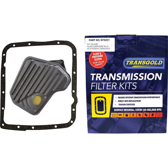 Transgold Automatic Transmission Filter Kit - KFS231, , scaau_hi-res
