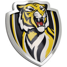 Richmond AFL Supporter Logo - 3D Chrome Finish, , scaau_hi-res