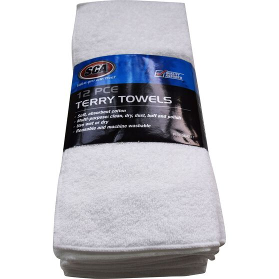 SCA Terry Towel - 12 Pack, , scaau_hi-res