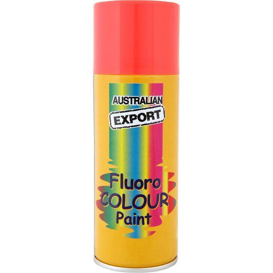Export Enamel Aerosol Paint - Fluro Blaze Orange, 125g, , scaau_hi-res