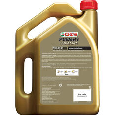 Castrol POWER1 Racing 4T Motorcycle Oil 10W-40 4 Litre, , scaau_hi-res