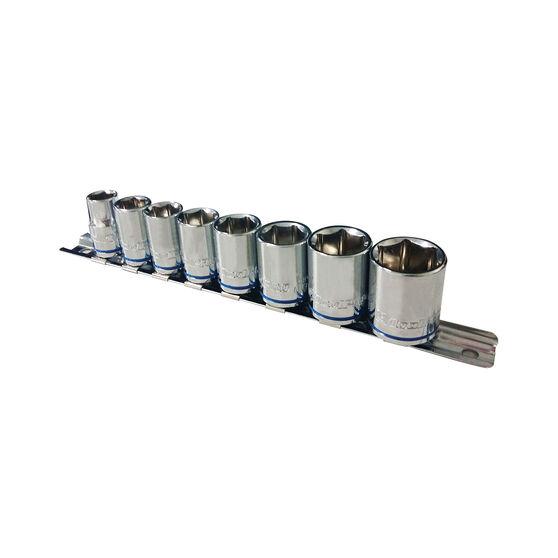 "ToolPRO Socket Rail Set 3/8"" Drive Metric 8 Piece, , scaau_hi-res"
