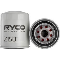 Ryco Oil Filter Z158, , scaau_hi-res