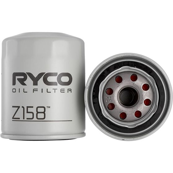 Ryco Oil Filter - Z158, , scaau_hi-res