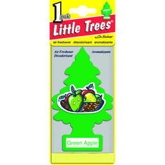 Little Trees Air Freshener - Green Apple, , scaau_hi-res