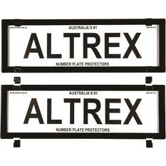Altrex Number Plate Protector - 5 Figure Slim Clear No Lines 5VSNL, , scaau_hi-res