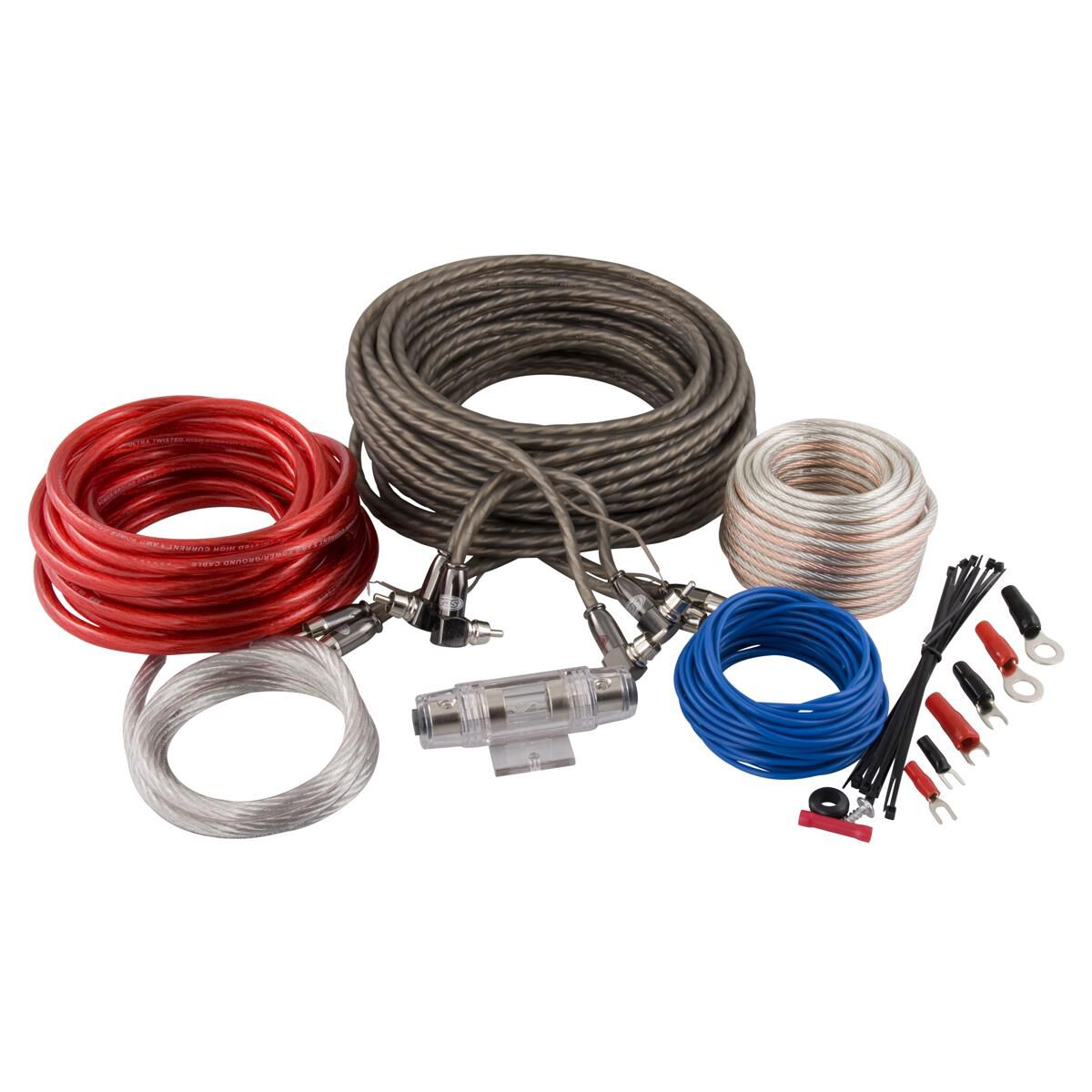 Sub Wiring Kit Trusted Diagrams Audio Kits Supercheap Auto Subwoofer Amplifier 4 Channel 8 Gauge