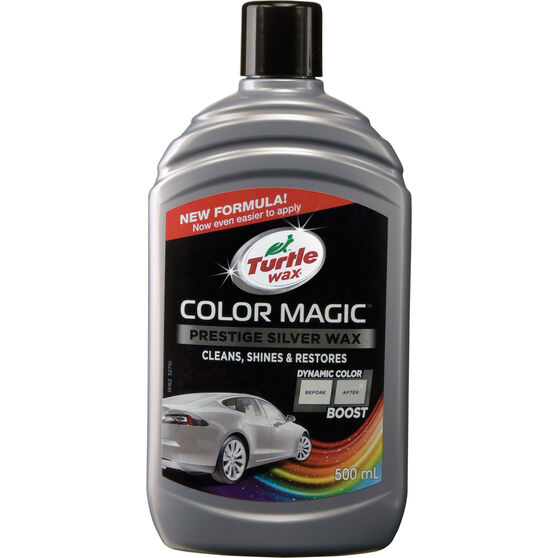 Turtle Wax Color Magic Polish Silver - 500mL, , scaau_hi-res