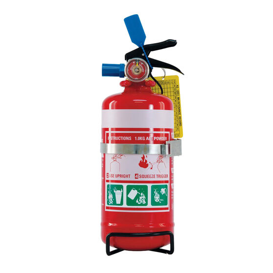 SCA Fire Extinguisher - 1kg, Vehicle & Home, Metal Mounting Bracket, , scaau_hi-res