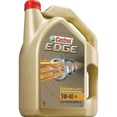 Edge Engine Oil - 5W-40, 5 Litre, , scaau_hi-res