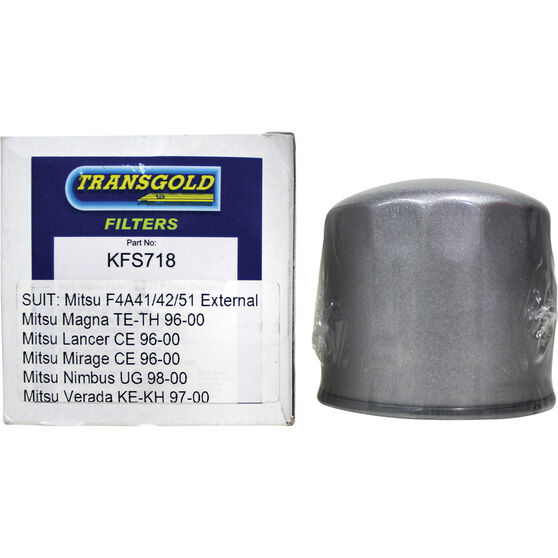 Transgold Automatic Transmission Filter Kit - KFS718, , scaau_hi-res