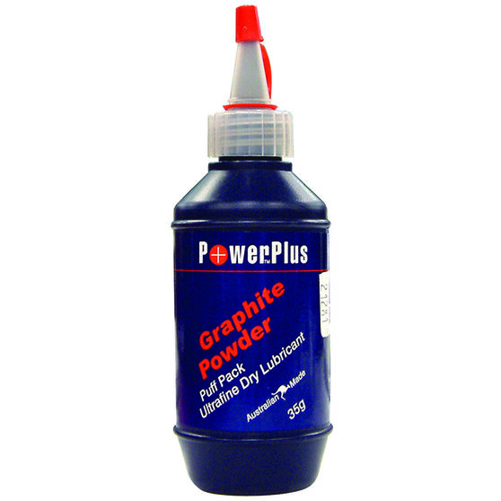 Power Plus Graphite Powder Lubricant 35g, , scaau_hi-res