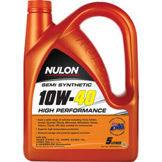 Nulon Semi Synthetic High Performance Engine Oil - 10W-40 5 Litre, , scaau_hi-res