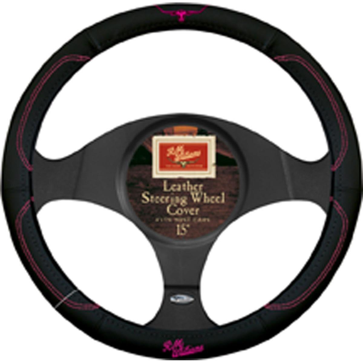 Yaris Black /& Grey Steering Wheel Cover Glove 37cm
