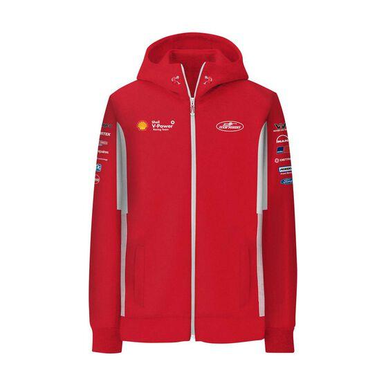 Shell V-Power Racing Team Men's 2020 Zip Hoodie, Red, scaau_hi-res