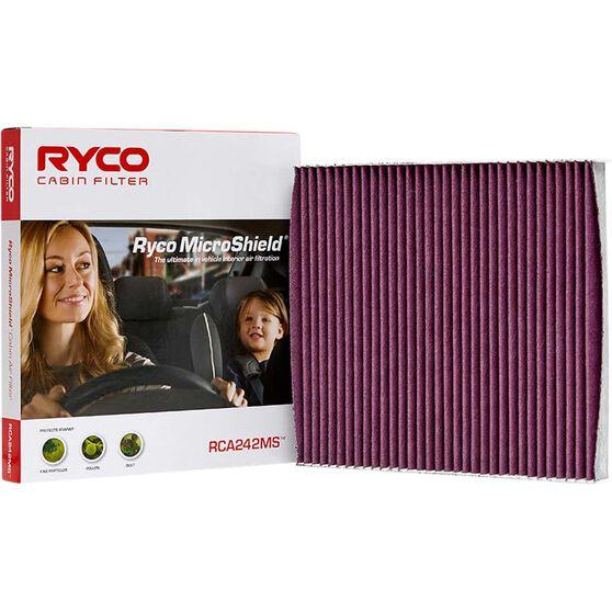 Ryco Cabin Air Filter Microshield - RCA242MS, , scaau_hi-res