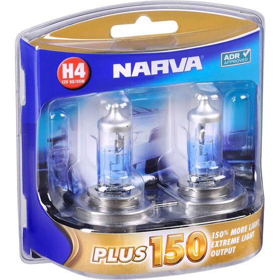 Narva Headlight Globe, Plus 150 - H4, 12V, 60 / 55W, , scaau_hi-res