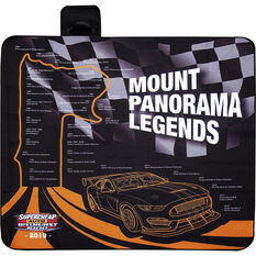 Bathurst Picnic Rug - Mount Panorama Past Legends, 1.5m x 1.5m, , scaau_hi-res