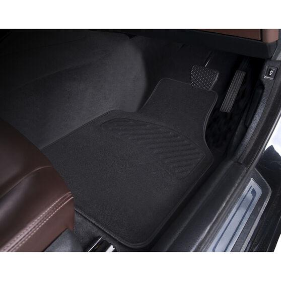 SCA Luxury Carpet Floor Mats Black Set of 4, , scaau_hi-res