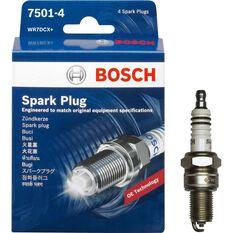 Bosch Spark Plug - 7501-4, 4 Pack, , scaau_hi-res