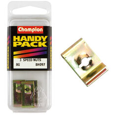 Champion Speed Nuts (Clips) - 8G, BH097, Handy Pack, , scaau_hi-res