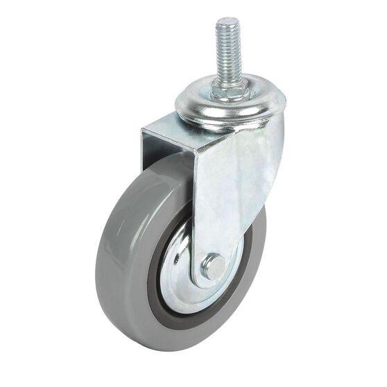 SCA Castor Wheel - 100 x 24mm, Plastic, Swivel, , scaau_hi-res