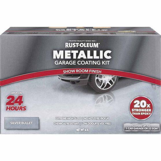 Rustoleum Metallic Silver Bullet Floor Kit 1-Car Garage
