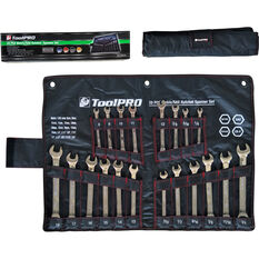 ToolPRO Spanner Set - Ratchet, 20 Piece, Metric and Imperial, , scaau_hi-res