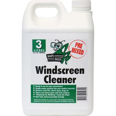 Bar's Bugs Pre-mix Windscreen Cleaner - 3 Litre, , scaau_hi-res
