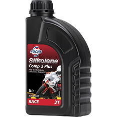 Silkolene Comp 2 Plus Motorcycle Oil - 1 Litre, , scaau_hi-res