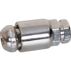 Calibre Wheel Nuts, Tapered Lock, Chrome - SLN12125, 12mm x 1.25mm, , scaau_hi-res