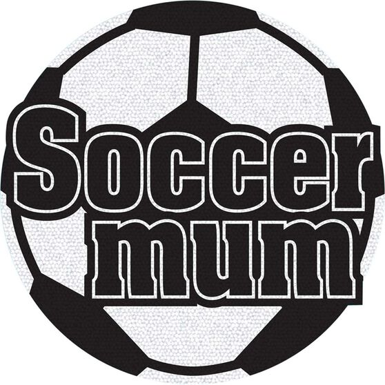 Hot Stuff Sticker - Soccer Mum, Holographic, , scaau_hi-res