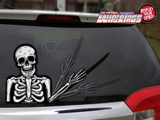 WiperTag Rear Window Blade Cover - Skeleton, , scaau_hi-res