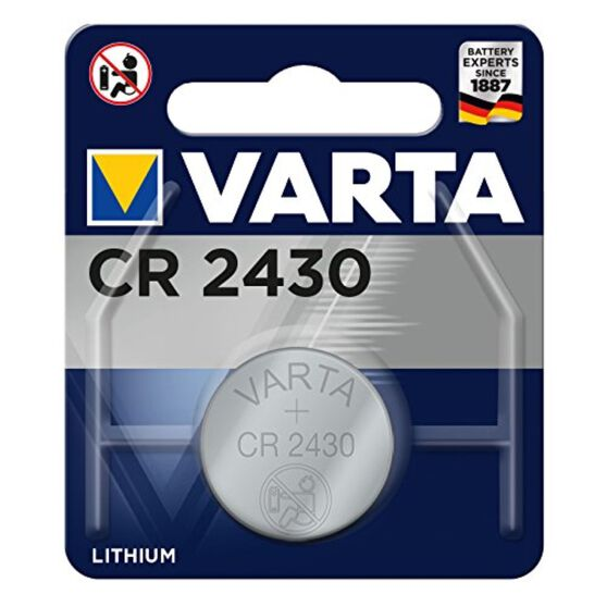 Varta Lithium Coin Battery - CR2430, 1 Pack, , scaau_hi-res