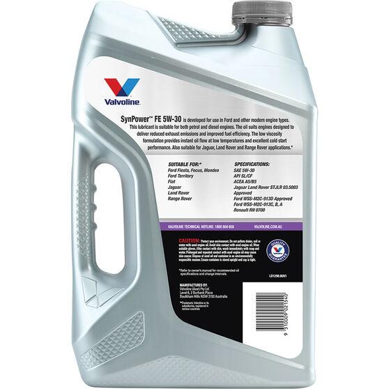 Valvoline Synpower FE Engine Oil 5W-30 6 Litre, , scaau_hi-res