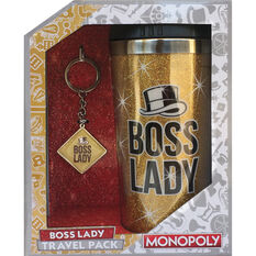 Boss Lady Travel Mug Gift Pack, , scaau_hi-res