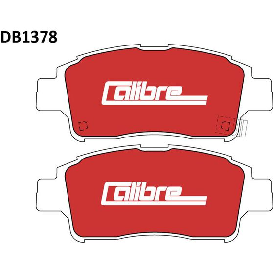 Calibre Disc Brake Pads - DB1378CAL, , scaau_hi-res