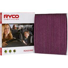 Ryco Cabin Air Filter Microshield- RCA201MS, , scaau_hi-res
