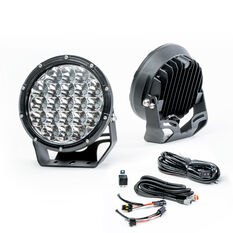 Enduralight 175mm LED Driving Lights 63W with harness, , scaau_hi-res