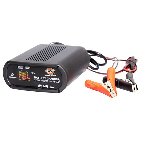 SCA 12V 10 Amp 7 Stage Battery Charger, , scaau_hi-res