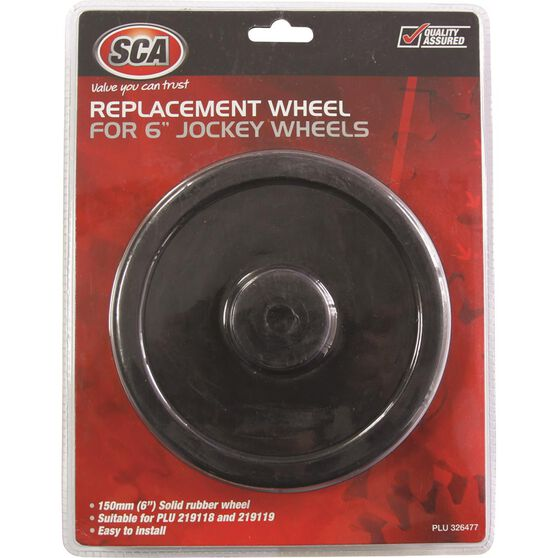 SCA Replacement Jockey Wheel - 6 inch, , scaau_hi-res