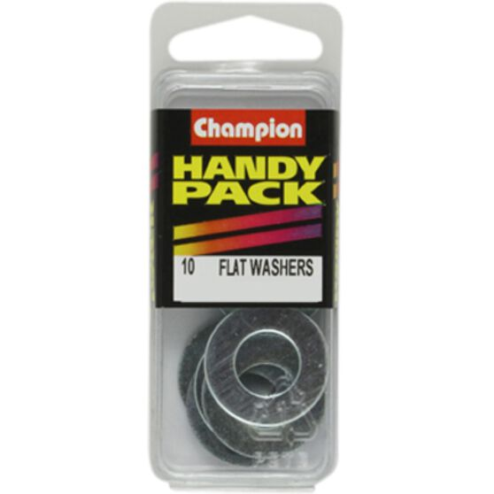Champion Flat Steel Washers - BH171, Handy Pack, , scaau_hi-res