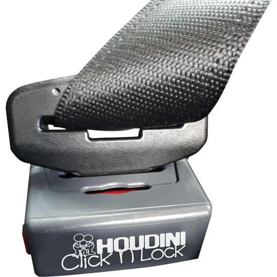 Houdini Click'n'Lock Seat Belt Buckle Guard - Single, , scaau_hi-res