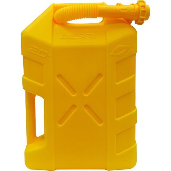 Willow Diesel Jerry Can - 20 Litre, , scaau_hi-res