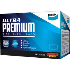 Bendix Ultra Premium Disc Brake Pads -DB1841UP, , scaau_hi-res