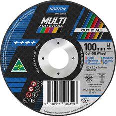 Norton Multi Purpose Grinding Disc - 100mm, , scaau_hi-res