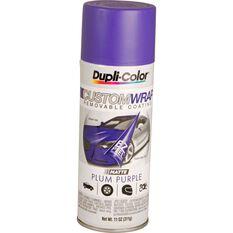 Dupli-Color Aerosol Paint Custom Wrap - Matte Plum Purple, 311g, , scaau_hi-res